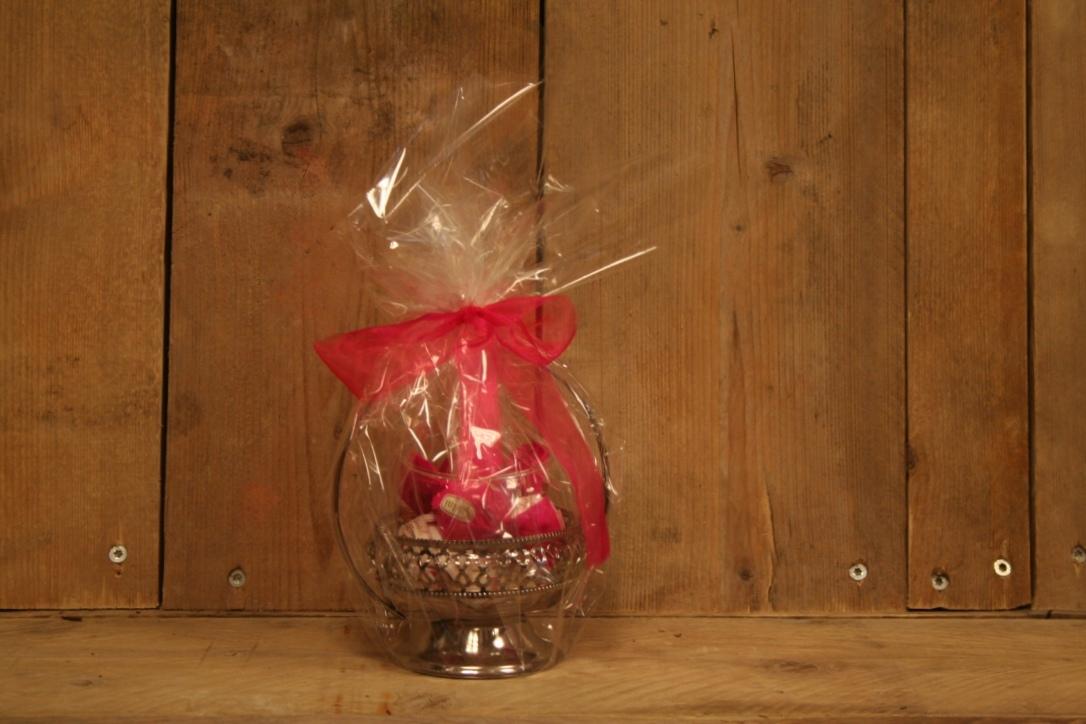 Bonbonsschaaltje met handgemaakte bonbons