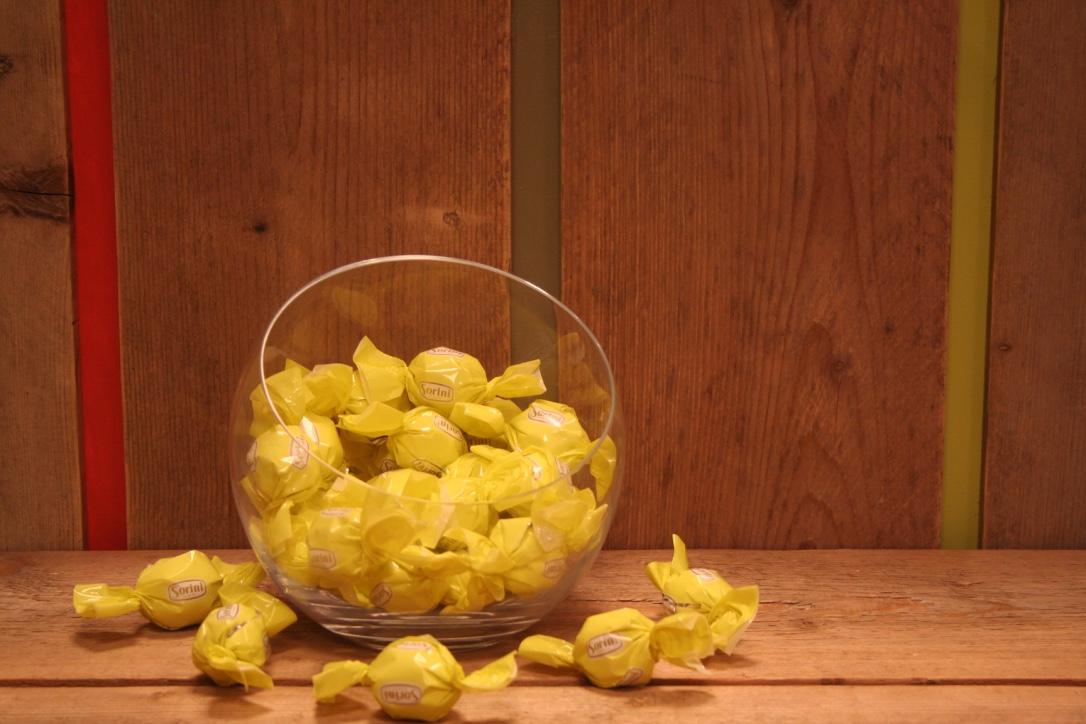 Italiaanse bonbons - witte room