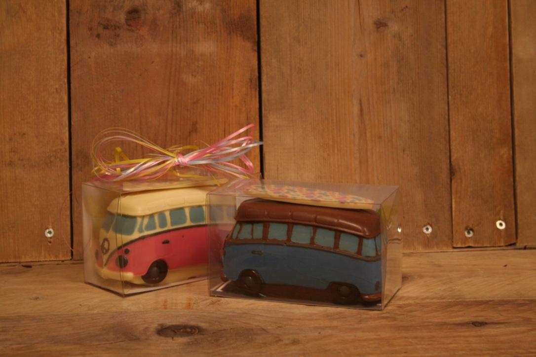 Chocolade volkswagenbusje