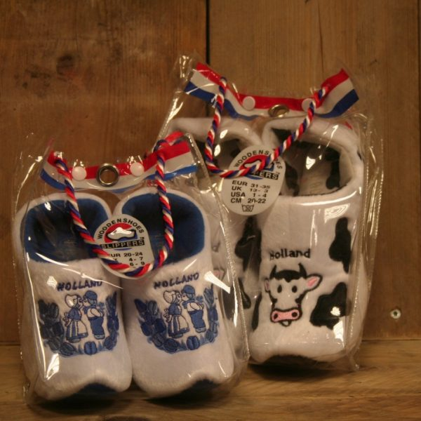 Lekkere warme pantoffels met leuke print