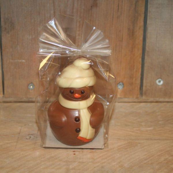 Chocolade sneeuwpop