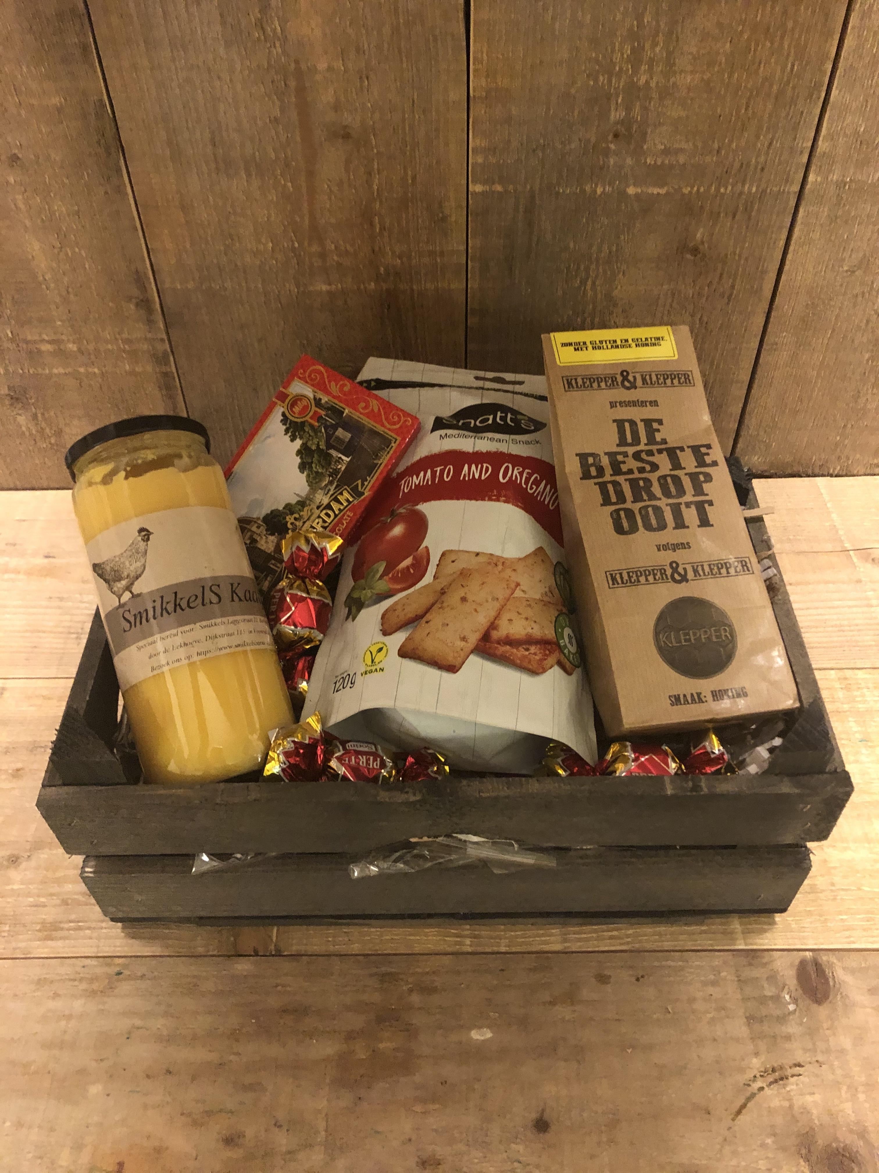 Kerstpakket of relatiegeschenk 'Hollands'