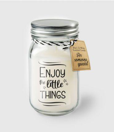 Kaars Enjoy the little things