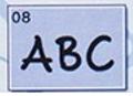 Lettertype 08