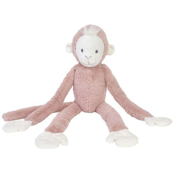 Happy horse hanging monkey
